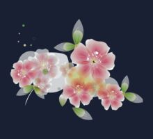 Shining pink flowers Kids Clothes