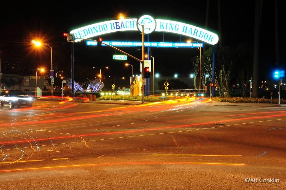 Archway into King Harbor by Walt Conklin