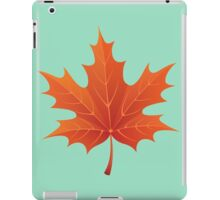 Autumn orange leaf iPad Case/Skin