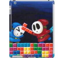 Shy Guys Playing Tetris iPad Case/Skin