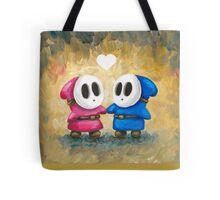 Shy Guys in Love! Tote Bag