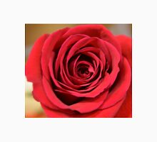 Lovely red rose flower close up picture. Floral photography. Unisex T-Shirt