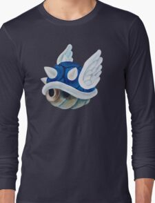 Blue Shell Long Sleeve T-Shirt