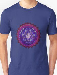 Hamsa: Blue/Purple  T-Shirt