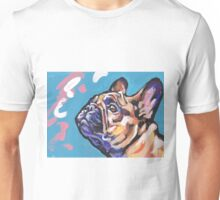 French Bulldog Dog Bright colorful pop dog art Unisex T-Shirt