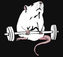 Deadlift Rat by teaandink