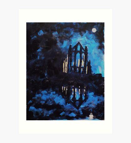 'Whitby Abbey' Art Print
