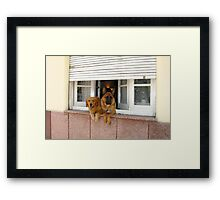 Security System - On Framed Print
