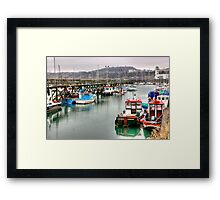 The Harbour ~ Scarborough Framed Print