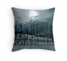 Spring Snows Throw Pillow