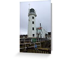 Scarborough Lighthouse Greeting Card