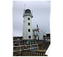 Scarborough Lighthouse Poster
