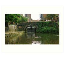 Castlefield Canal basin Art Print