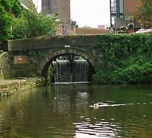 Castlefield Canal basin by sledgehammer