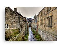 Village Stream Metal Print