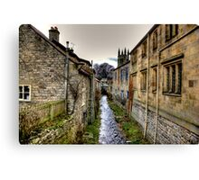 Village Stream Canvas Print