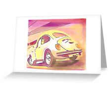 Beetle off to the Sun Greeting Card