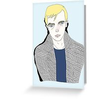 Lucien Carr  Greeting Card