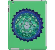 Hamsa: Blue/Green iPad Case/Skin