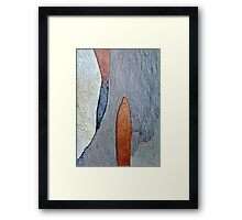 Ink Brush Framed Print
