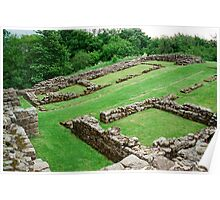 Roman Fort along hadrian's Wall Poster
