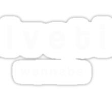 Helvetica wannabe (Tee) Sticker