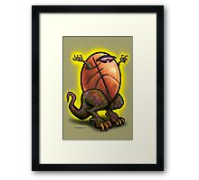 Basketball Zilla Framed Print