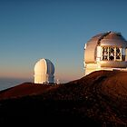 Keck Telescope on Mauna Kea by FuccisPhotos