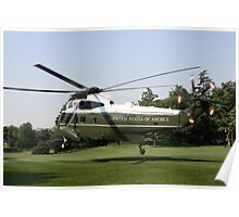 Marine One Take Off Poster