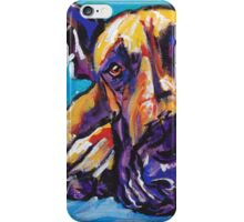 Great Dane Dog Bright colorful pop dog art iPhone Case/Skin