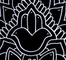 Hamsa: Black Sticker