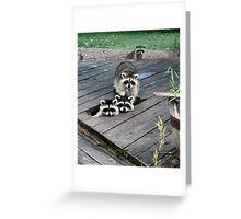 Out of the Woodwork! Greeting Card