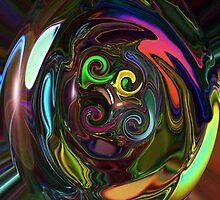 Kaleidoscope of Colors by Sabine Jacobsen [SJArt]