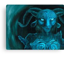 Pan's Labyrinth Faun Canvas Print