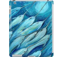 Narwhal Sea. Narwhals by Sheridon Rayment iPad Case/Skin