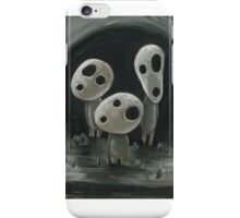 White Kodama Trio iPhone Case/Skin