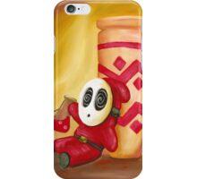 Shy Guy and the Magic Potion iPhone Case/Skin