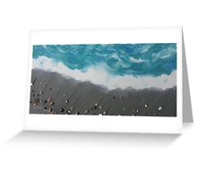 Cocoa Beach with Cocoa Beach Shells Greeting Card