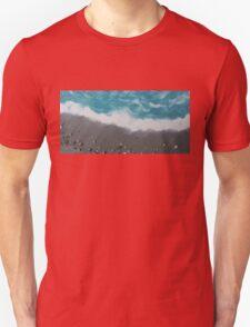 Cocoa Beach with Cocoa Beach Shells Unisex T-Shirt