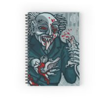 Knock, Vampire Jack of Spades Spiral Notebook