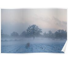Winter in England Poster