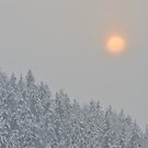 Alpine Sunset by Kasia Nowak