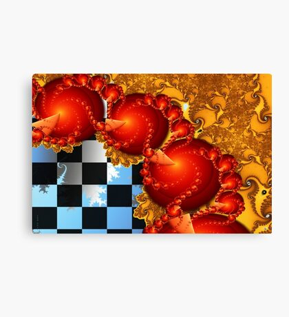 Red Cheese Balls Canvas Print