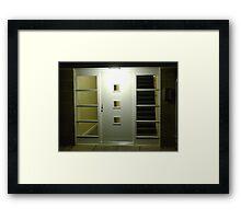 Light & Dark (entryway)  Framed Print