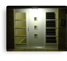 Light & Dark (entryway)  Canvas Print