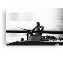 Military Parade  Canvas Print