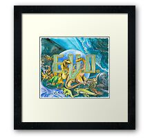 EVO Search for Eden Framed Print