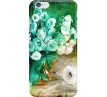 Vintage variations by Anna Legowicz Art iPhone Case/Skin