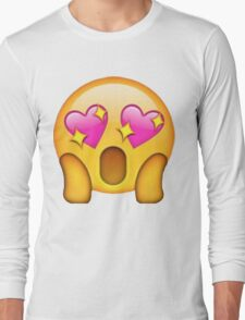 Fan Girl Heart Eyes Long Sleeve T-Shirt
