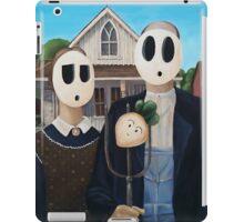 Shyguy Gothic - American Gothic iPad Case/Skin